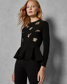 PIROUETTE EMBELLISHED SWEATER at Ted Baker