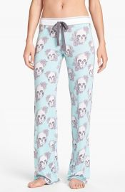 PJ Salvage  Floral Skully  Pants at Nordstrom