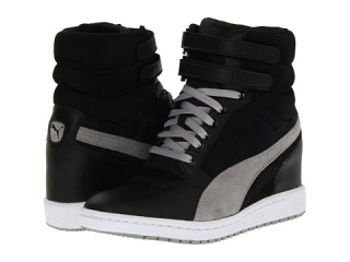 PUMA Sky Wedge LC Wns BlackLimestone Gray at 6pm