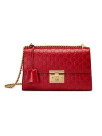 Padlock medium Gucci Signature Shoulder Bag by Gucci at Gucci