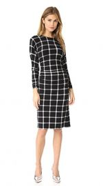 Wornontv Kelly S Black Grid Dress On Live With Kelly And