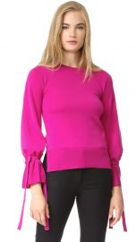 Bell Sleeve Crew Neck Sweater at Shopbop
