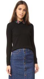 Club Monaco Kalani Collar Sweater at Shopbop