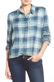 Paige Denim  Trudy  Plaid Shirt at Nordstrom