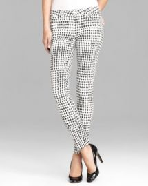 Paige Denim Jeans - Verdugo Skinny in Diamond Checkerboard at Bloomingdales