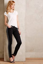 Paige Verdugo Embellished Jeans at Anthropologie