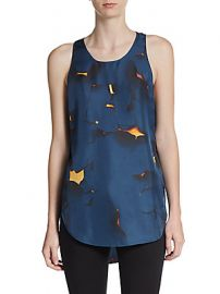 Paint Peel Print Silk Tank Top by 31 Phillip Lim at Saks Off 5th