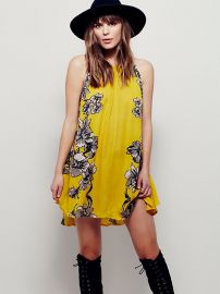 Paint the Sun Slip in Mustard at Free People