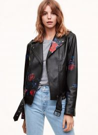 Painted Florica Jacket at Aritzia