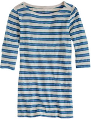 Painter boatneck tee in nautical stripe at J. Crew