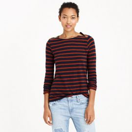Painter tee with zips at J. Crew