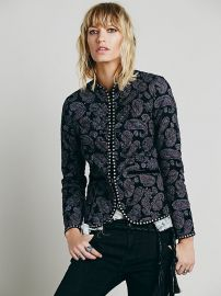 Paisley Quilted Jacket at Free People