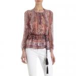 Paisley blouse by Isabel Marant at Barneys