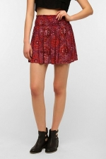Paisley printed skirt by Ecote at Urban Outfitters