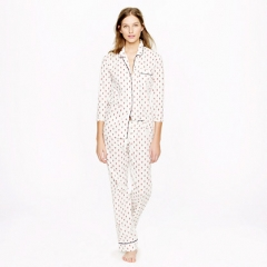 Pajama Set in Fleur de Lis at J. Crew