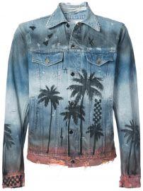 Palm Denim Trucker jacket  Amiri at Farfetch