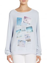 Palm Polaroid Sweatshirt by Wildfox at Saks Off 5th