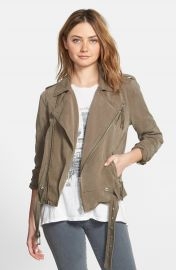 Pam   Gela Moto Military Jacket at Nordstrom