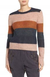 Pam   Gela Stripe Alpaca Blend Sweater at Nordstrom