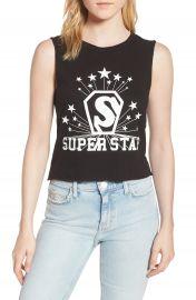 Pam  amp  Gela Superstar Shrunken Muscle Tee at Nordstrom