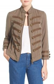 Pam and Gela Crop Military Band Jacket at Nordstrom