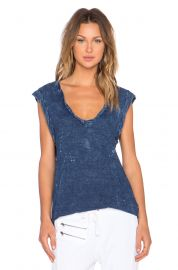 Pam and Gela V Neck Muscle Tee at Revolve