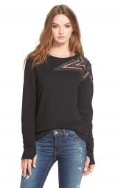 Pam and GelaEmbellished Star Sweatshirt at Nordstrom
