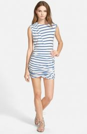 Pam andamp Gela Twisted Sleeveless Dress at Nordstrom