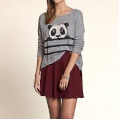 Panda Sweater at Hollister