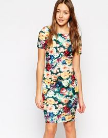 Paper Dolls  Paperdolls Floral Print Bodycon Dress at Asos