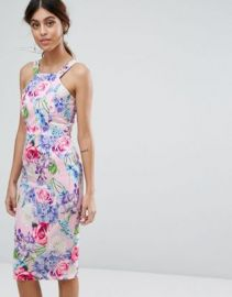 Paper Dolls Midi Dress in Pretty Floral at asos com at Asos