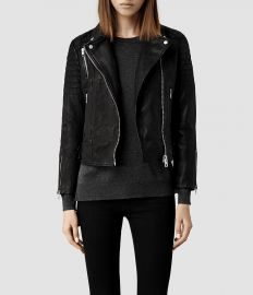 Papin Leather Jacket at All Saints