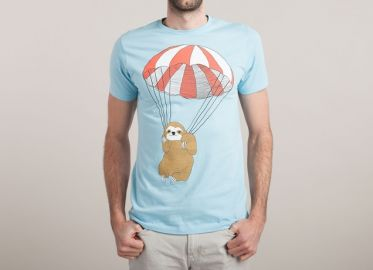 Parachuting Sloth at Threadless