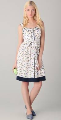 Parakeet dress by Milly at Shopbop