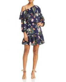 Parker Clarisse Floral Print Silk Ruffle Dress - 100  Exclusive at Bloomingdales