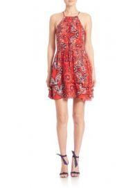 Parker - Dax Bandana Printed Dress at Saks Off 5th