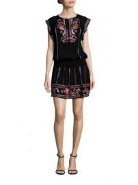 Parker - Dean Embroidered Dress at Saks Fifth Avenue