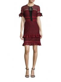 Parker - Emilia Ruffle Lace Dress at Saks Off 5th