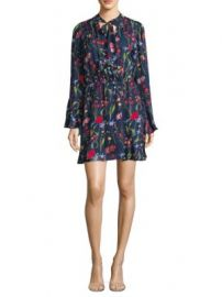 Parker - Valencia Silk Tunic Dress at Saks Fifth Avenue