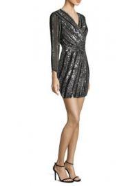 Parker Black - Kelsey Wrap Dress at Saks Fifth Avenue