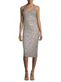 Parker Black - Sage Sleeveless Sparkle Dress at Saks Fifth Avenue