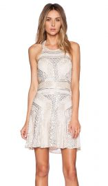 Parker Black Leona Sequin Dress in Blush at Revolve