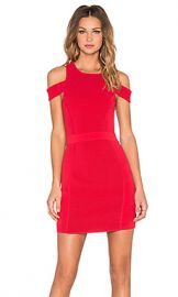 Parker Boomerang Knit Dress in Poinsettia at Revolve