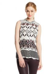 Parker Chainlink Brooklyn Blouse at Amazon