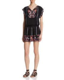 Parker Dean Embroidered Dress at Bloomingdales
