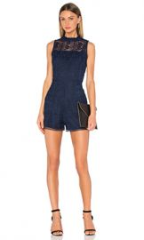 Parker Dori Romper in Stealth from Revolve com at Revolve