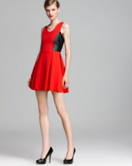 Parker Dress - Olivia Color Block at Bloomingdales