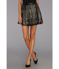 Parker Filomena Skirt Black at Zappos