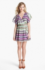 Parker Flora Silk Wrap Dress at Nordstrom