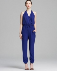 Parker Jumpsuit - Leroy Halter at Bloomingdales